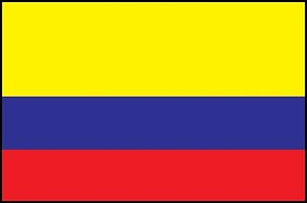 4'x6' Colombia Flag