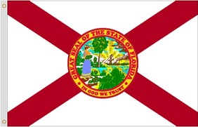 2'x3' Florida Nylon Flag
