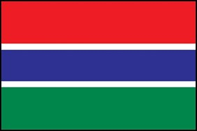 3'x5' Gambia Flag