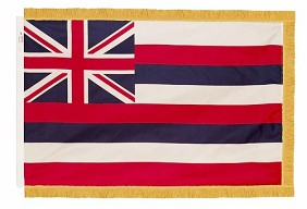 4'x6' Hawaii Indoor Flag