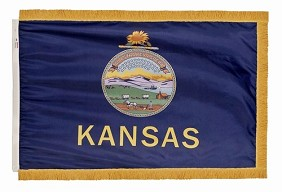 3'x5' Kansas Indoor Flag