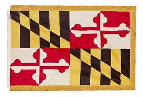 4'x6' Maryland Indoor Flag