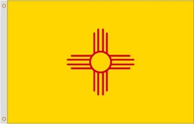3'x5' New Mexico Polyester Flag