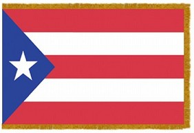 4'x6' Puerto Rico Indoor Flag