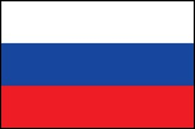 3'x5' Russia Flag