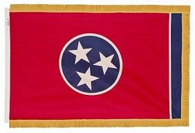 4'x6' Tennessee Indoor Flag