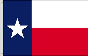 8'x12' Texas Nylon Flag (COPY)