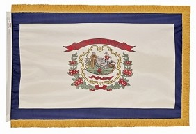 4'x6' West Virginia Indoor Flag