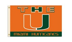 Miami Hurricanes Flag
