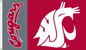 Washington State Cougars Flag