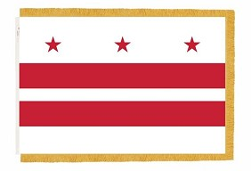 3'x5' District of Columbia Indoor Flag